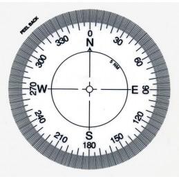 Kompass naklejany...