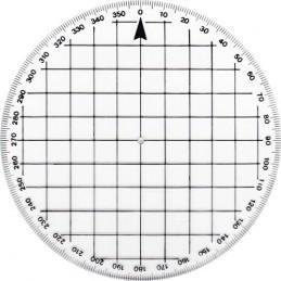 Okrągły Protractor-kątomierz