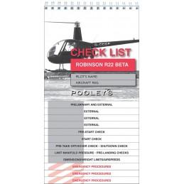 Checkliste Robinson R 22