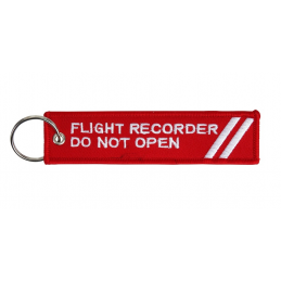 Brelok FLIGHT RECORDER