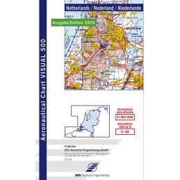 VFR 500 Mapa Holandii.