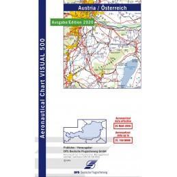 VFR 500 Mapa Austria