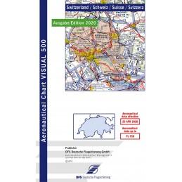 VFR 500 Mapa Szwajcaria.