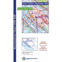 VFR 500 Mapa Chorwacji...