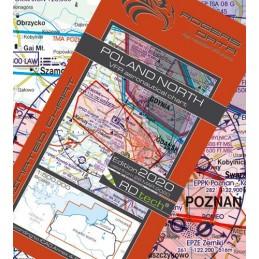 Mapa Lotnicza  Polska Nord...