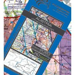 Austria VFR Mapa ICAO