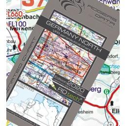 Niemcy VFR Mapa Nord ICAO 2019