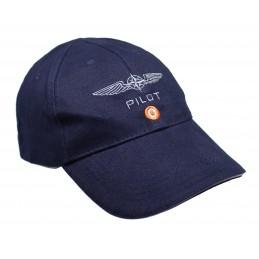 Czapka Pilota niebieska...