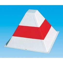 Piramida bialo czerwona