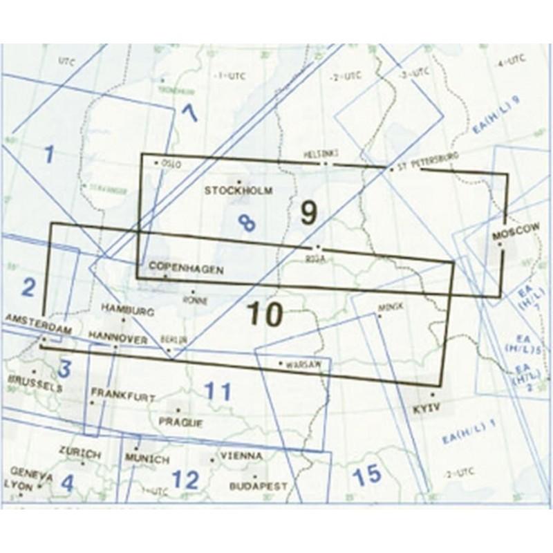Enroute Chart E(LO) 09/10 Polska