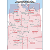 ICAO Mapy VFR 500  Niemiec 2020
